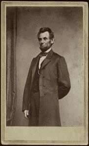 Lincoln carte-de-visite