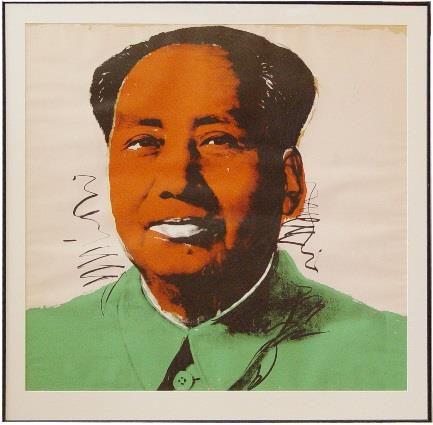 Mao Warhol Print
