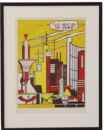This Must Be the Place Lichtenstein Print